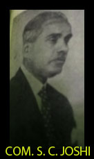 S. C JOSHI